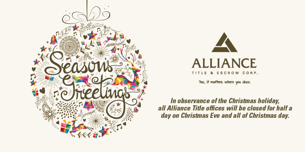 Social Media Post Alliance Christmas 2015