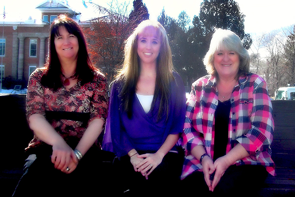 From left: Tina Christy-Dettloff, Heidi Semmler, and Laurie Santee.