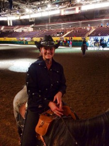 Alliance Title's Gabi Rhoades participated once again as a Stampeder in this year's rodeo!
