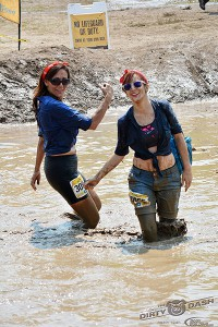 The Mud Pit - Stacy and Courtney Cairns.