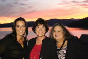 Left to right:  Star Nieves, JoAnn Lowe (Western Idaho Real Estate), and Deborah Byron-Leffler (Keller Williams Realty).