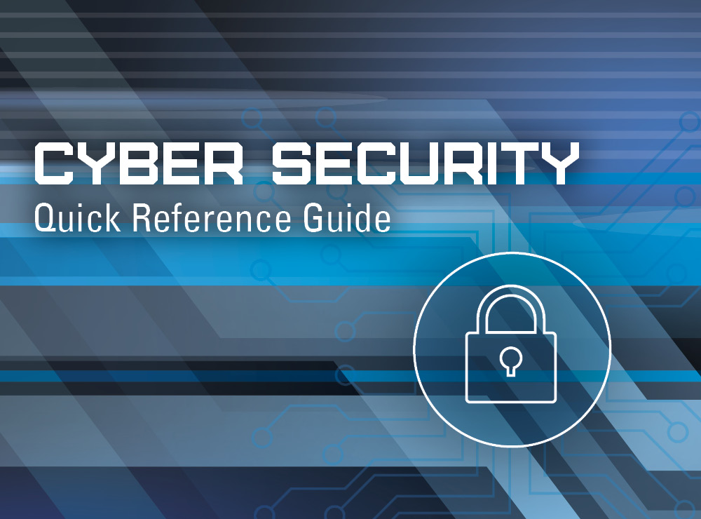 Cyber Security Quick Reference Guide Alliance Title